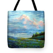 Evening Rain Tote Bag