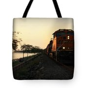 Evening Ride Tote Bag