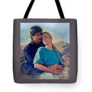 Evening Romance Tote Bag