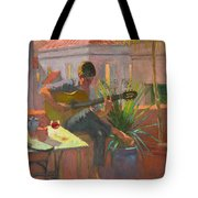 Evening Rooftop Tote Bag