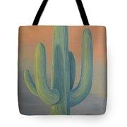 Evening Saguaro Tote Bag