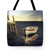 Evening Sea Tote Bag