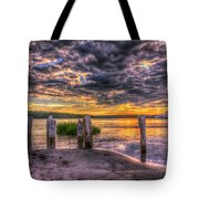 Evening Skies Tote Bag