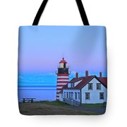 Evening Skies Of Green Tote Bag