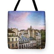 Evening Skyline Tote Bag