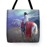 Evening Solitude L. E. P. Tote Bag