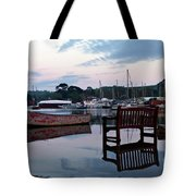 Evening Spring Tide In Mylor Bridge Tote Bag