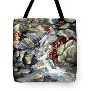 Evening Stream Tote Bag