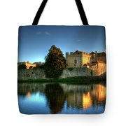 Evening Sun At Leeds Castle Tote Bag