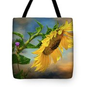 Evening Sunflower Tote Bag