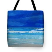 Evening Surf Tote Bag