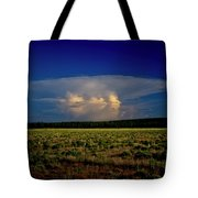 Evening Thunderstorm Tote Bag