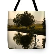 Evening Tide On The Farm Tote Bag