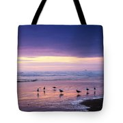 Evening Tide Reflections Tote Bag