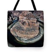 Evening Tones Horseshoe Bend Arizona Landscape  Tote Bag
