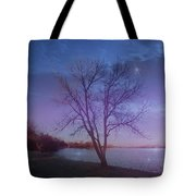 Evening Twinkles Tote Bag
