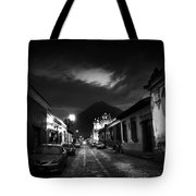 Evening Under The Volcano Tote Bag