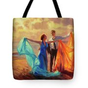 Evening Waltz Tote Bag