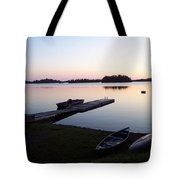 Evening Water Bliss Tote Bag