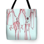 Evening Wear, 1956 Tote Bag