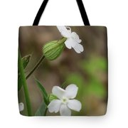 Evening Wildflower Tote Bag