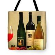 Evening Wine Display Tote Bag
