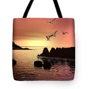 Evening's End Tote Bag