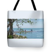 Ever-changing Pelee Tote Bag