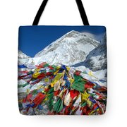 Everest Base Camp Tote Bag