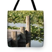 Everglades Pier Tote Bag