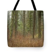 Evergreen Fog Tote Bag