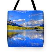 Evergreen Lake Tote Bag