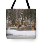 Evergreen Reflection Tote Bag