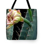 Every Cactus Flower Has It's Thorns  Tote Bag