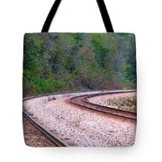 Every Line Has A Curve Tote Bag