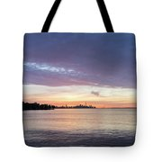 Every Morning Is Different - Toronto Skyline With An Awesome Cloudbank Tote Bag