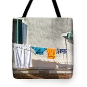 Everyday Life In Venice Tote Bag
