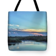 Everyglades Sunset Tote Bag