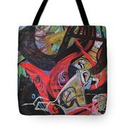 Everyone Is In His Own World Tote Bag