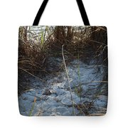 Everything Grows In The Sand Tote Bag