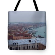 Everything Travels By Boat To Venice Tote Bag