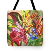 Everywhere There Were Flowers Tote Bag