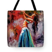 Eve's Dance Tote Bag