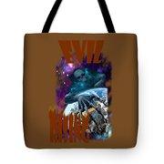Evil Rising Tote Bag