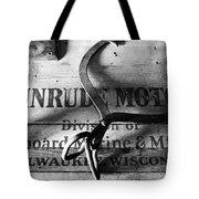 Evinrude Motors Crate Circa 1940s Tote Bag