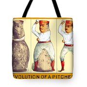 Evolution Of A Pitcher Tote Bag