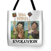 Evolution Poster Tote Bag