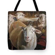 Ewes In The Paddock Tote Bag