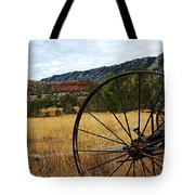 Ewing-snell Ranch 3 Tote Bag by Larry Ricker