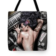 Ex Dono Dei Tote Bag by Pete Tapang